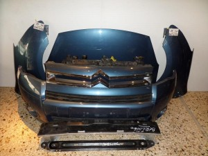Citroen Berlingo 2008-2012 μετώπη-μούρη εμπρός κομπλέ σκούρο γαλάζιο