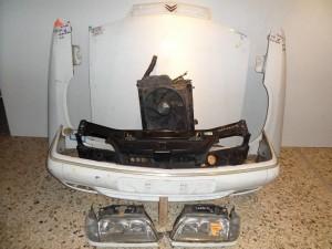 Citroen Xantia II 1998-2001 μετώπη εμπρός κομπλέ λευκό