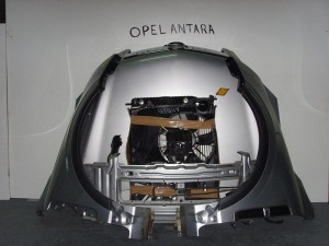 Opel Antara 07 μετώπη εμπρός κομπλέ ασημί
