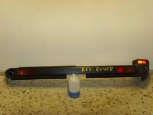 Range rover 1995-2002 πίσω προφυλακτήρας άβαφος