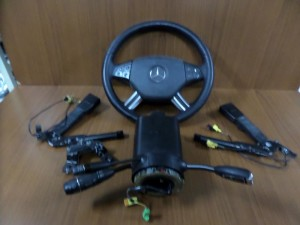 Mercedes ML w164 2005-2011 airbag μαύρο