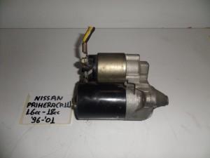 Nissan primera p11 96-01 1.6cc kai 1.8cc βενζίνη μίζα