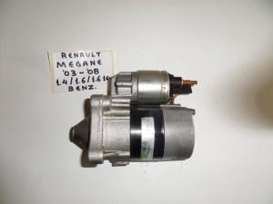 Renault megane 03-08 1.4 k 1.6cc βενζίνη μίζα