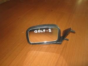 VW golf 2 1988-1991 καθρέπτης απλός αριστερός άβαφος
