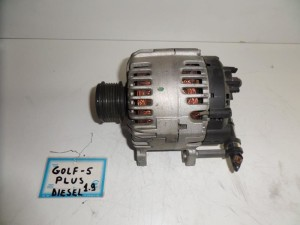 VW golf plus 04-09 1.9cc diesel δυναμό