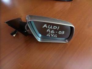 Audi A6 2002-2004 all road ηλεκτρικός ανακλινόμενος καθρέπτης δεξιός ασημί σκούρο (10 καλώδια)
