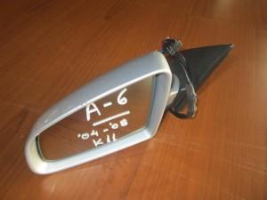 Audi A6 2004-2008 ηλεκτρικός καθρέπτης αριστερός ασημί (11 καλώδια)