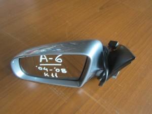 Audi A6 2004-2008 ηλεκτρικός καθρέπτης αριστερός ασημί σκούρο (11 καλώδια)