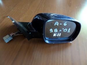 Audi A6 1997-2002 ηλεκτρικός καθρέπτης δεξιός μπλέ σκούρο (11 καλώδια)