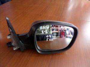 BMW X1 E84 2009-2013 ηλεκτρικός καθρέπτης δεξιός ασημί (5 καλώδια)