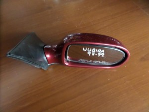 Daewoo Nubira 1997-1999 ηλεκτρικός καθρέπτης δεξιός μπορντό