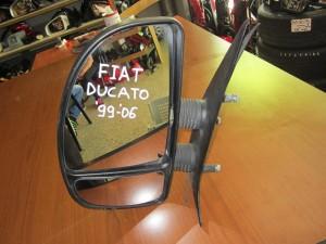 Fiat ducato-Citroen jumper-Peugeot boxer 1999-2006 απλός καθρέπτης αριστερός άβαφος (διπλό τζάμι)