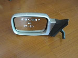 Ford Escort 4 1986-1990 καθρέπτης απλός αριστερός ασημί