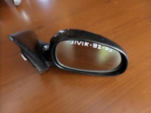 Honda civic 1992-1996 3θυρο ηλεκτρικός καθρέπτης δεξιός μαύρος
