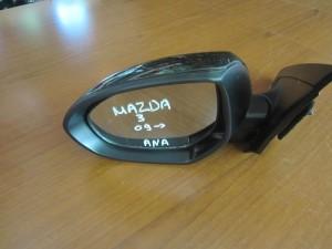 Mazda 3 09 ηλεκτρικός ανακλινόμενος καθρέπτης αριστερός μαύρος