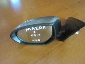 Mazda 3 09 ηλεκτρικός ανακλινόμενος καθρέπτης αριστερός σκούρο ασημί