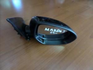 Mazda 3 09 ηλεκτρικός ανακλινόμενος καθρέπτης δεξιός μαύρος