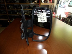 Opel Movano 2003-2009 ηλεκτρικός καθρέπτης δεξιός άβαφος (7 καλώδια)