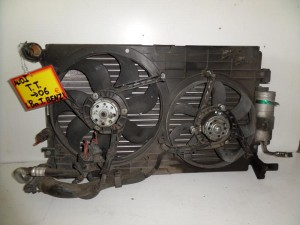 Audi TT 1998-2006 1.8cc turbo βενζίνη ψυγείο κομπλέ (νερού-air condition-διπλό βεντιλατέρ)