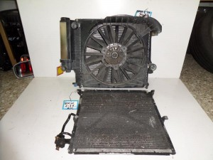 BMW Series 3 E36 1992-1998,Compact 1993-2000 1.6cc-1.8cc-2.0cc βενζίνη ψυγείο κομπλέ (νερού-air condition-βεντιλατέρ)