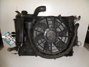 BMW Series 3 E46 1999-2005,Compact 2000-2004 1.6cc automatic βενζίνη ψυγείο κομπλέ (νερού-air condition-βεντιλατέρ)