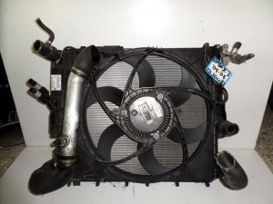 BMW X3 E83 2003-2010 2.0cc-3.0cc diesel ψυγείο κομπλέ (νερού-air condition-βεντιλατέρ-intercooler-λαδιού)
