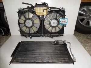 Honda accord 2003-2008 diesel ψυγείο κομπλέ (νερού-aircondition-βεντιλατέρ-παγούρι)