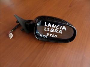 Lancia Lybra 1998-2005 ηλεκτρικός ανακλινόμενος καθρέπτης δεξιός μαύρος (9 καλώδια)