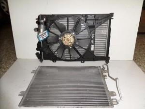 Renault Megane Scenic 1999-2003 1.4-1.6cc βενζίνη ψυγείο κομπλέ (νερού-air condition-βεντιλατέρ)