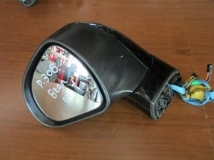 Peugeot 308 2008-2013 ηλεκτρικός καθρέπτης αριστερός μαύρος (8 καλώδια)