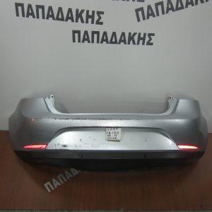 Seat Ibiza 2008-2012 5θυρο προφυλακτήρας οπίσθιος ασημί