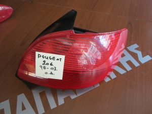 Peougeot 206 1998-2003 φαναρι πισω δεξιο