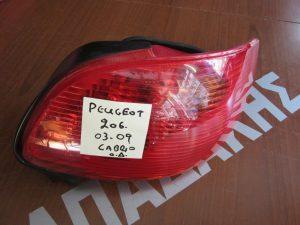Peougeot 206 Cabrio 2003-2009 φαναρι πισω δεξιο
