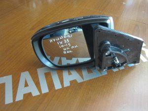 Hyundai IX-35/TUCSON 2010-2015 καθρέπτης αριστερός ηλεκτρικά ανακλινόμενος 8 ακίδες γκρί