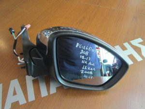 Peugeot 2008 2014-2017 καθρέπτης δεξιός ηλεκτρικά ανακλινόμενος 11 καλώδια χρώμιο νίκελ