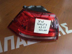 VW Golf-7 2013-2017 φανάρι πίσω αριστερό