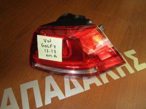 VW Golf-7  2013-2017 φανάρι πίσω δεξί