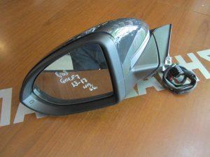 VW Golf-7 2013-2017 καθρέπτης αριστερός ηλεκτρικός μαύρος