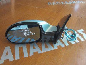 Citroen C5 2001-2008 καθρέπτης αριστερός  ηλεκτρικά ανακλινόμενος γαλάζιος
