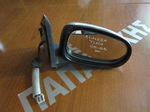 Nissan Almera Tino 2000-2006 καθρέπτης δεξιός ηλεκτρικός ασημί