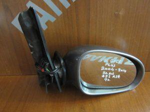 VW Golf Plus 2004-2014 καθρέπτης δεξιός ηλεκτρικά ανακλινόμενος 9 καλώδια φως ασφαλείας γκρί