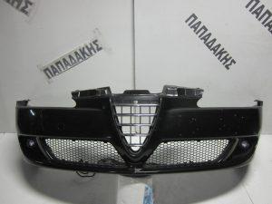 Alfa Romeo 156 2003-2007 εμπρός προφυλακτήρας μαύρος με προβολείς