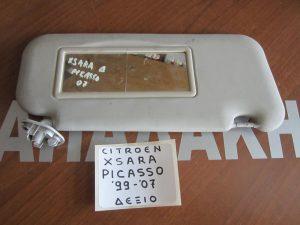 Citroen Xsara Picasso 1999-2007 αλεξήλιο δεξιό