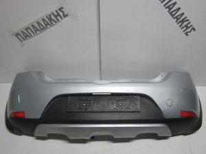 Dacia Sandero 2012-2017 πίσω προφυλακτήρας ασημί