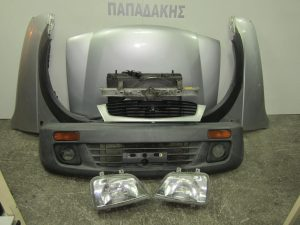 Daihatsu Terios 1997-2001 μετώπη-μούρη κομπλέ ασημί