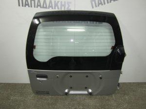 Daihatsu Terios 1997-2001 πόρτα πίσω (5η) ασημί
