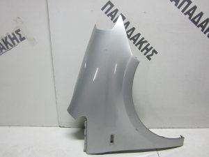 VW Fox 2005-2011 φτερό εμπρός δεξιό ασημί