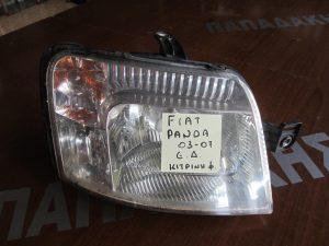 Fiat Panda 2003-2007 εμπρός δεξιό φανάρι κίτρινη φύσα