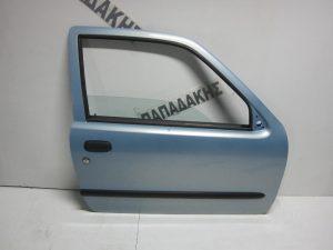 Fiat Seicento 1998-2007 πόρτα δεξιά γαλάζια