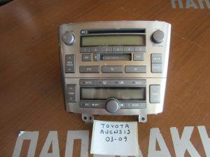 Toyota Avensis 2003-2009 Radio CD και χειριστήριο κλιματισμού